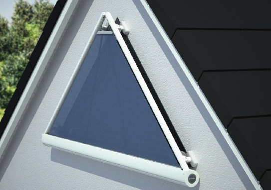 volet roulant pour fenetre triangle tableau isolant thermique. Black Bedroom Furniture Sets. Home Design Ideas